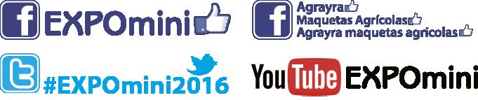 Redes sociales de Expomini